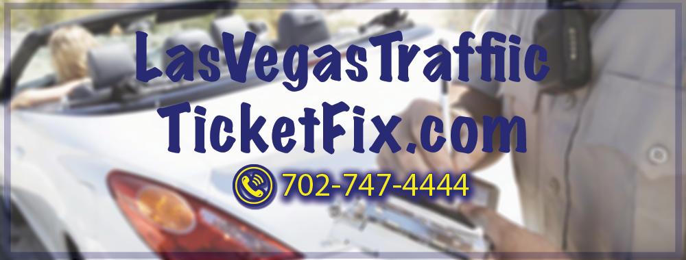 Las Vegas Traffic Ticket Fix